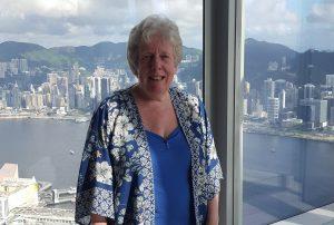 Alison in Hong Kong