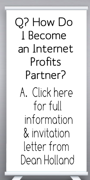 How do I become an Internet Profits Partner?